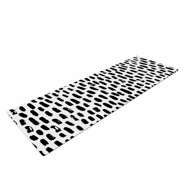 Ink Dots Yoga Mat