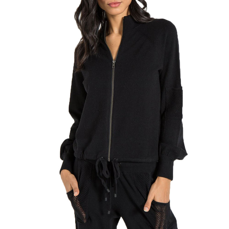 Jo Black Bomber Jacket