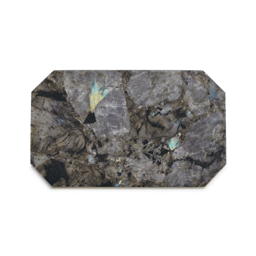 Crystal | Rectangle Labradorite Tray