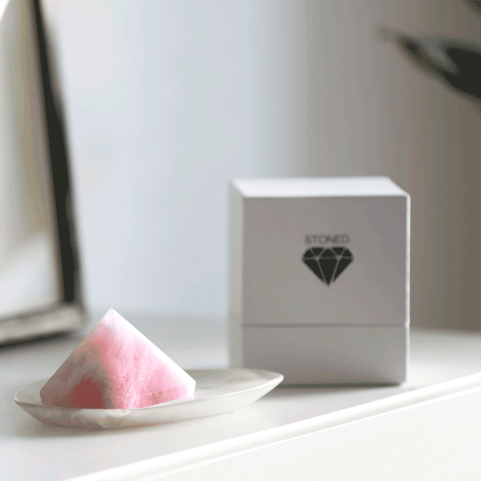 Crystal | Rose Quartz Love Prism
