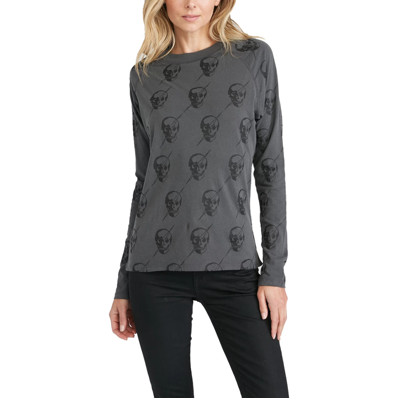 Lightning Skull Long Sleeve