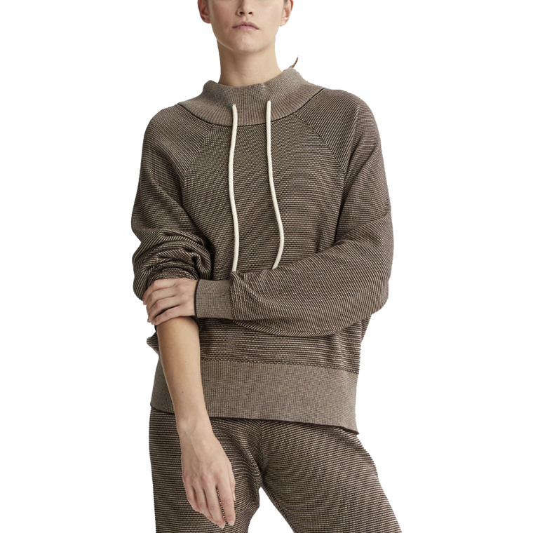 Maceo Chocolate Pebble Sweat