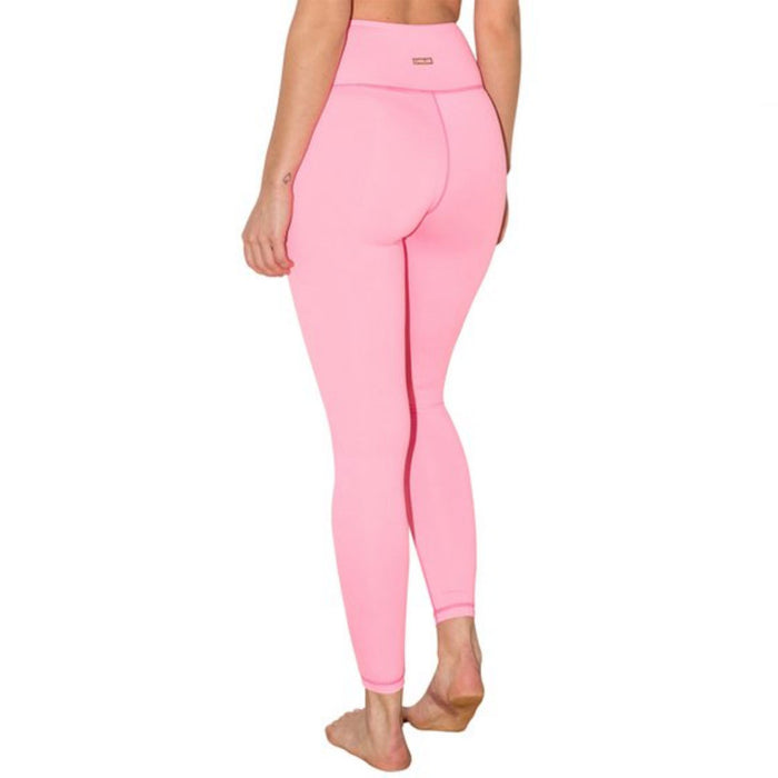 Run Run Run Pink High Waisted Leggings