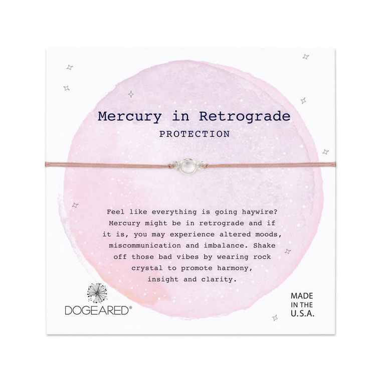 Mercury In Retrograde Protection Bracelet