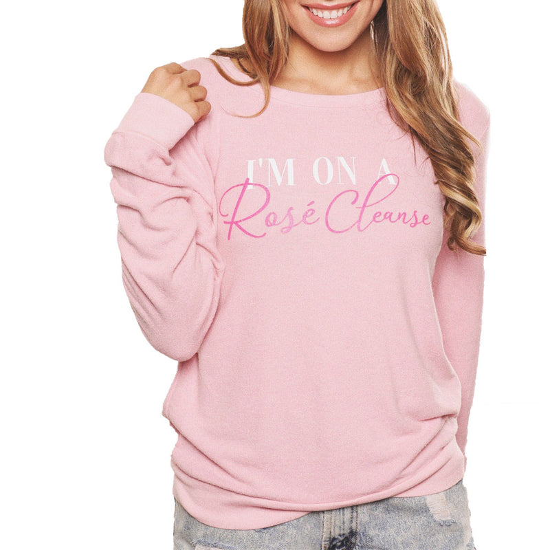 I'm On A Rosé Cleanse Sweatshirt