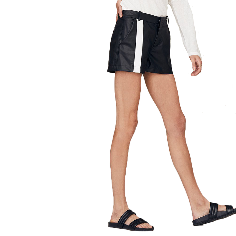 Campbell Trouser Vegan Leather Short