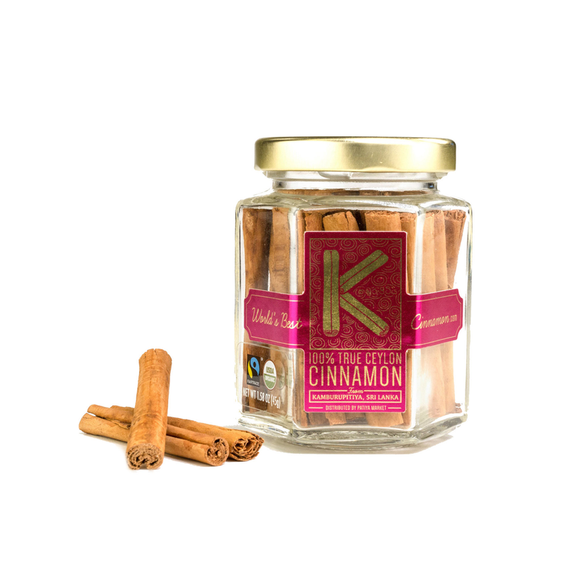 Kamburupitiya Ceylon Cinnamon Whole Cinnamon Sticks