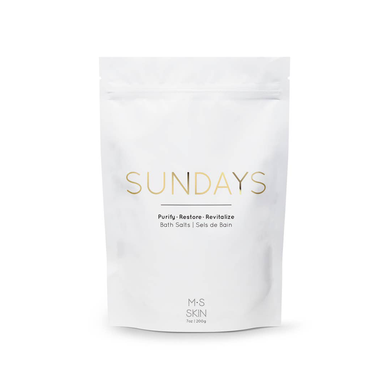 Sundays Detox Bath Salts