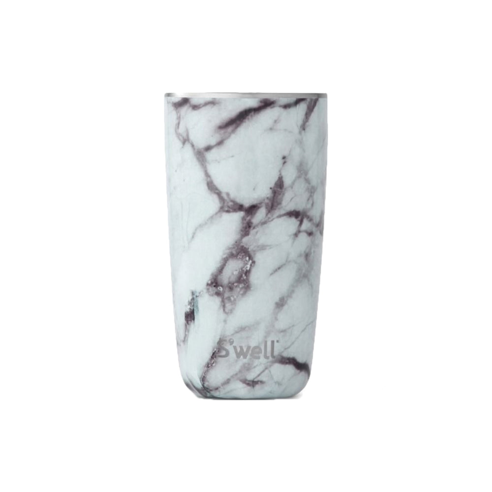 Water Bottle | White Marble
