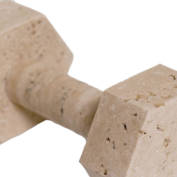 Travertine Marble Dumbell
