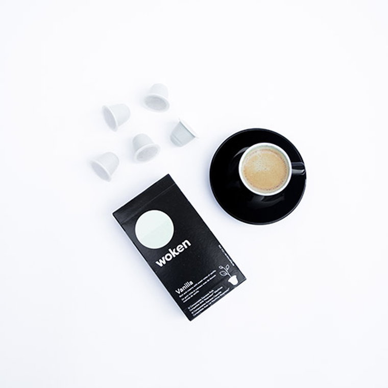 Vanilla Coffee Compostable Capsules