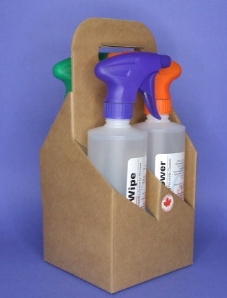 ECO CLEANING STARTER KIT 4 x 16oz / IN CARRIER