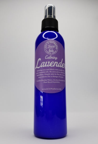 """Calming Lavender"" Natural Area & Fabric Spray, 8 oz"