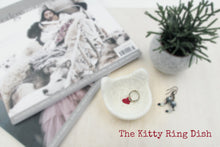Ring dish/Cat wedding gift/Valentine day gift/wedding favor/bridesmaid shower gift/cat lovers gift/gift for her/gift for mom
