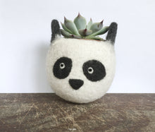 Succulent planter/Fox/Panda /Penguin/mini planter/Animal lover gift ideas/gift for her/Father's day gift/Set of three