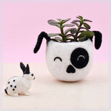 Planter/Dog lover gift/gift for her/succulent planter/Small succulent pot/Cactus planter gifts/dog head planter/dog vase