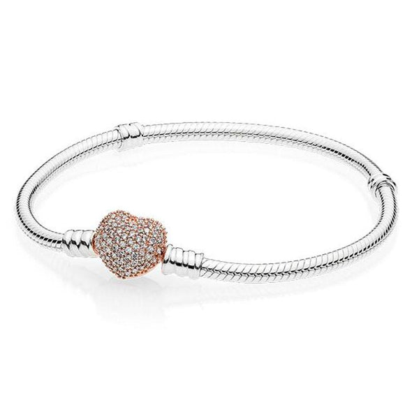 Pandora Pavé Heart Bracelet - Rupert & Brandy The Body Care Co.