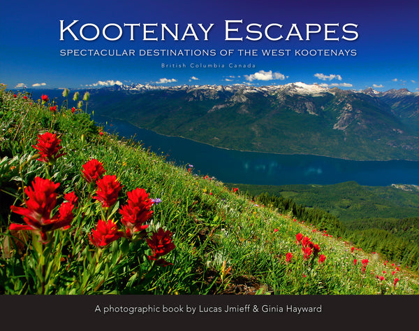 Kootenay Escapes book cover by Lucas Jmieff Ginia