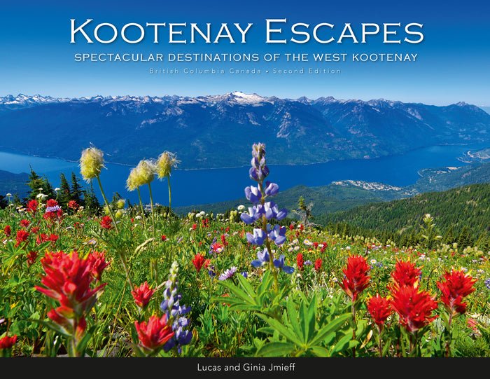 kootenay escapes book wildflowers idaho peak