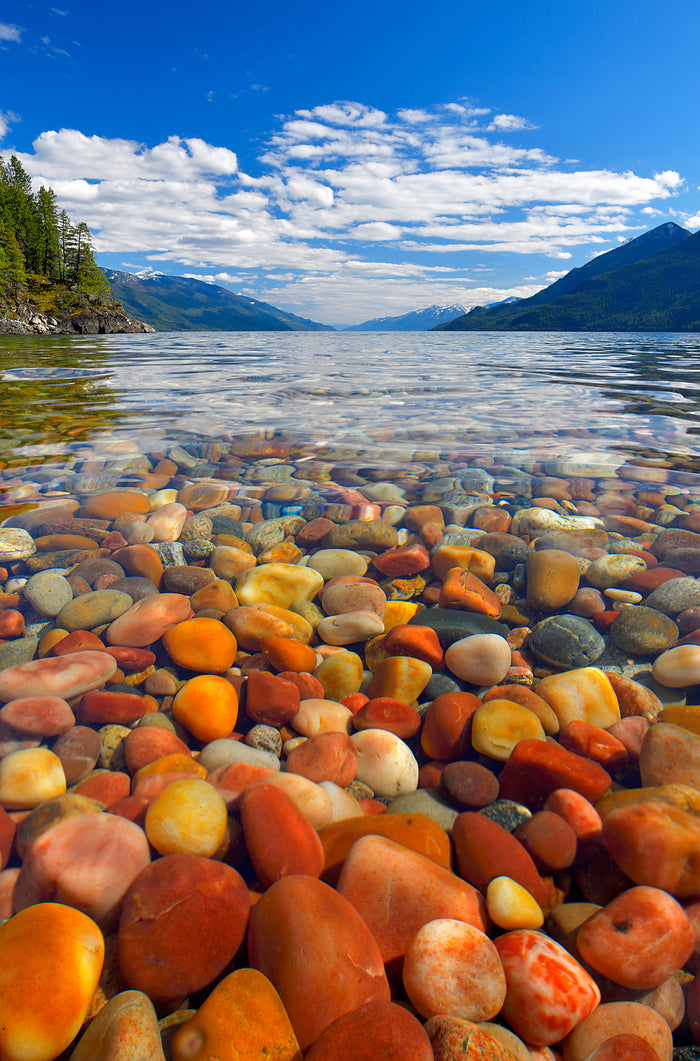 kootenay lake pebble beach pilot bay summer