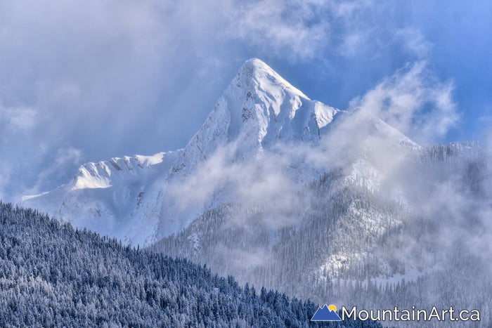 mt loki snow winter kaslo purcell mountains bc kootenay