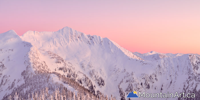 alpenglow whitewater ski backcountry ymir bowl peak nelson bc