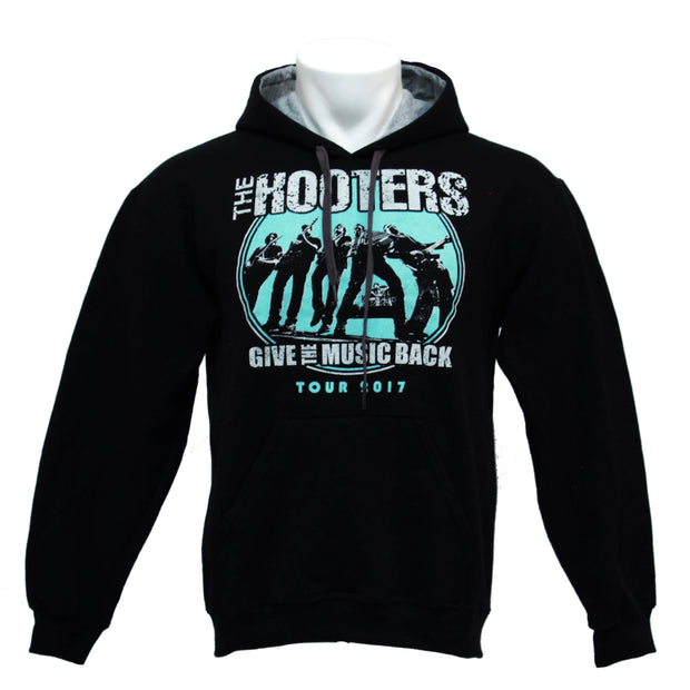 2017 Teal Give the Music Back Pullover Sweatshirt