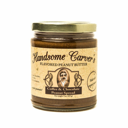 Handsome Carver's Nut Butters: Coffee & Chocolate Peanut Spread