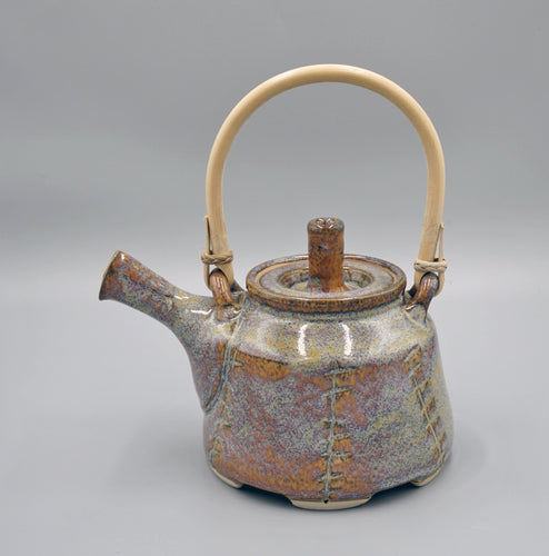 Bruno Kark: Tea Pot, Blue Rutile