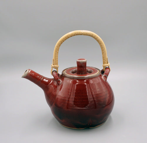 Bruno Kark: Tea Pot, Copper Red