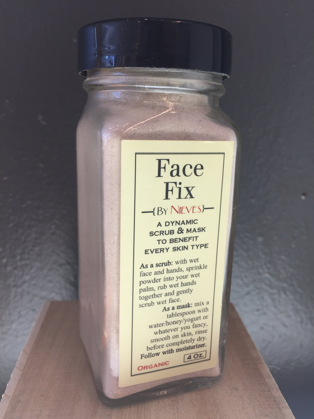 By Nieves: Face Fix 4 oz.