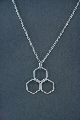 Forge & Fountain: Necklace-Honeycomb