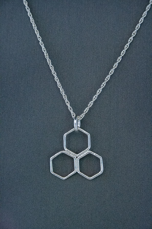 Forge & Fountain: Honeycomb Necklace