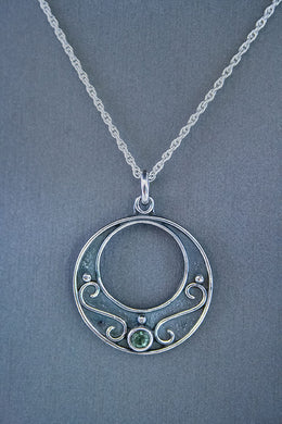 Forge & Fountain: Necklace-Green Tourmaline
