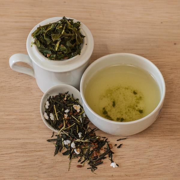Blue Willow Tea: Genmaicha