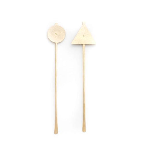 Mane Message: (W) Geometric Hair Pin