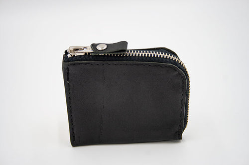 North & East Leather: L-zip Wallet
