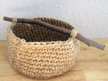 LKLY DEsigns: Natural Basket with Branch Handle