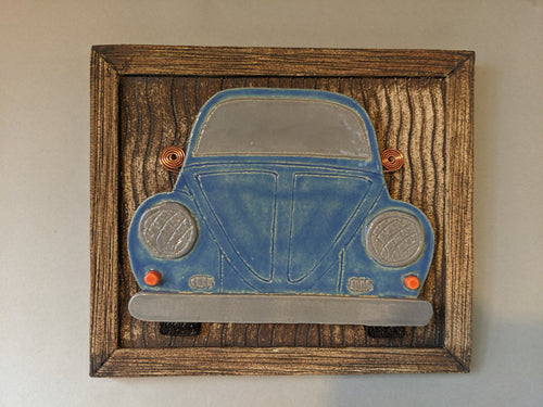 Joanne Radermacher: Beetle, Plaque