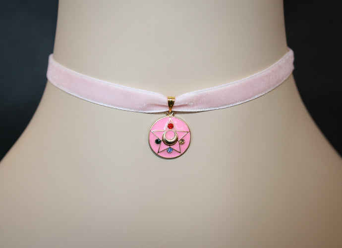 Unicorn Crafts: Magical Moon Chocker