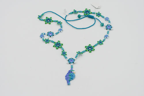 Huichol Center: Necklace-1