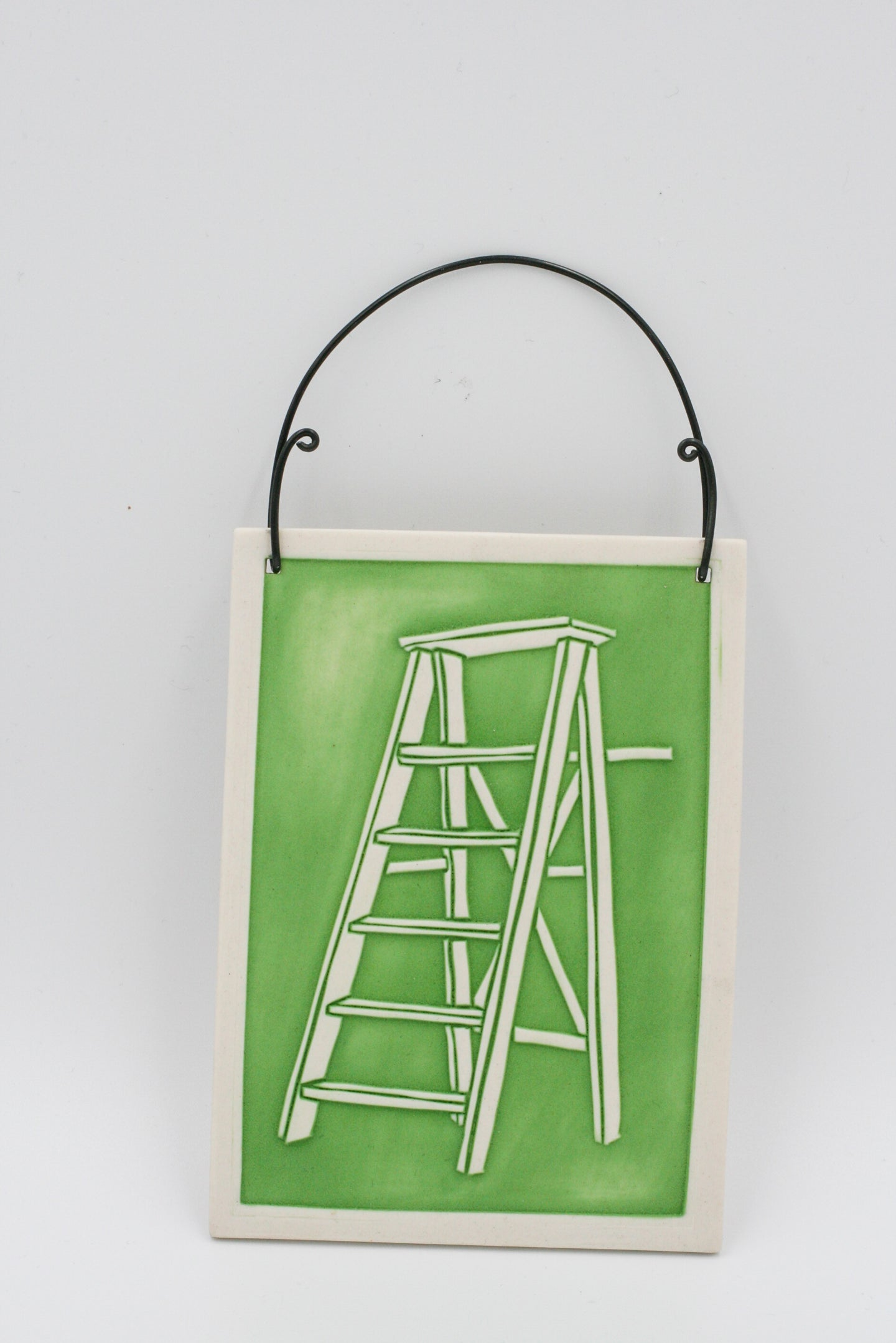 Sarah Gregory: Green Stepladder