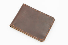North & East Leather: Slim Card Bi-Fold