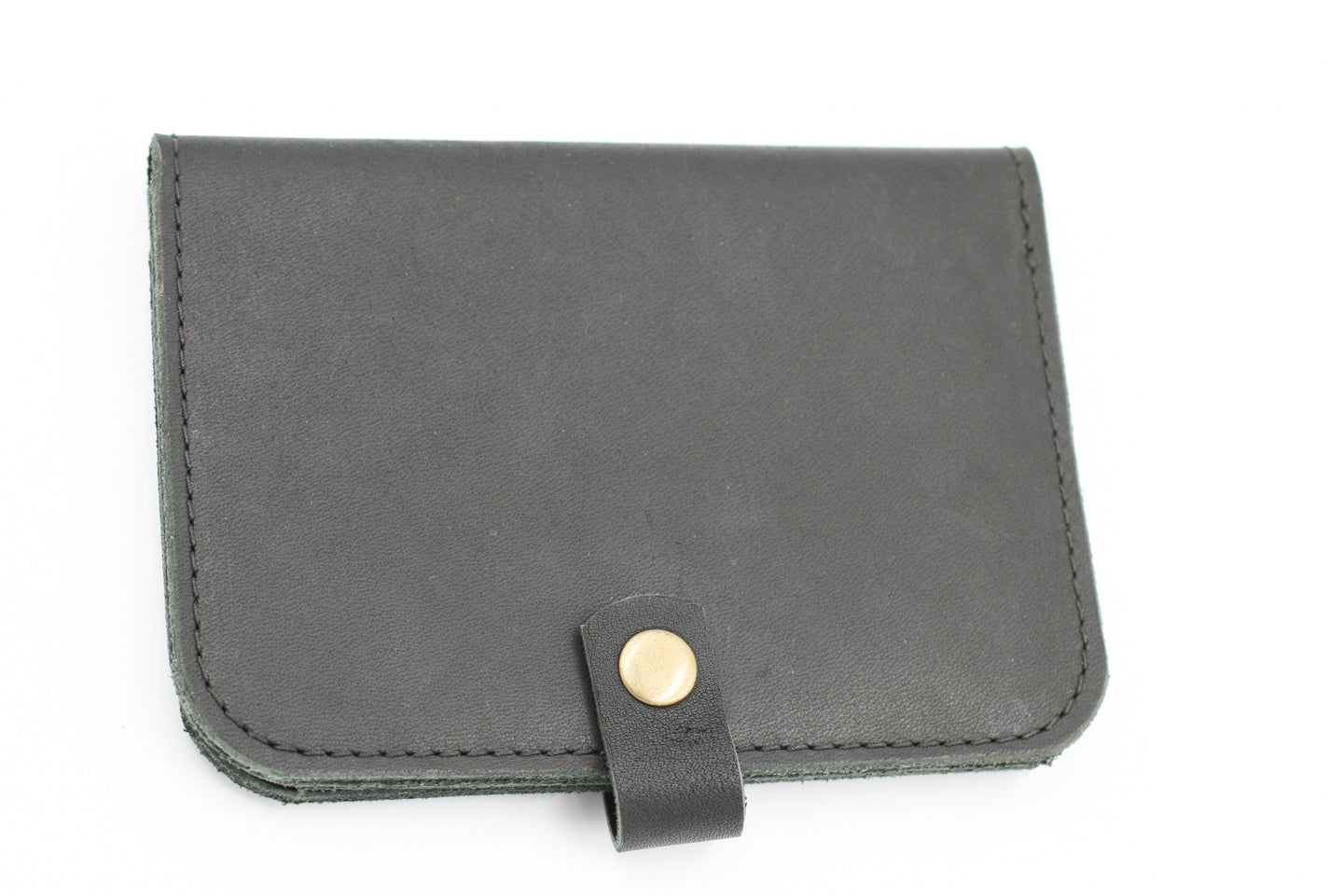 North & East Leather: Passport Wallet