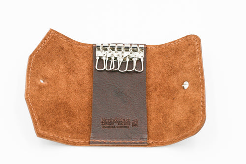 North & East Leather: Key Wallet