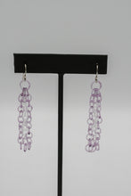 BCM Glass: Chain Earrings-5