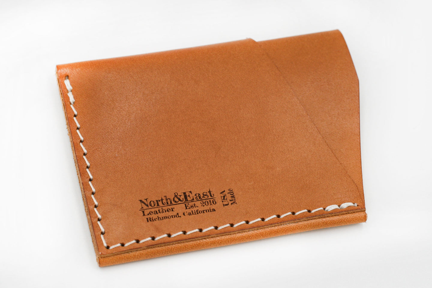 North & East Leather: Slim Card Wallet