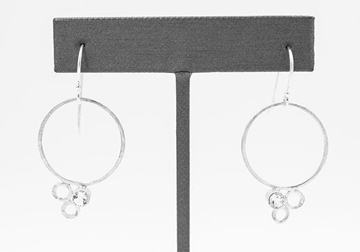 Eko Wright: Earrings-Martine