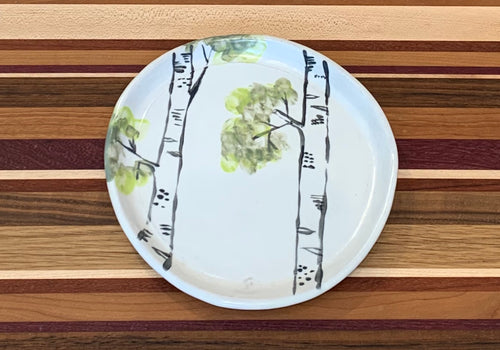 Josie Jurczenia: Small Plate, two trees