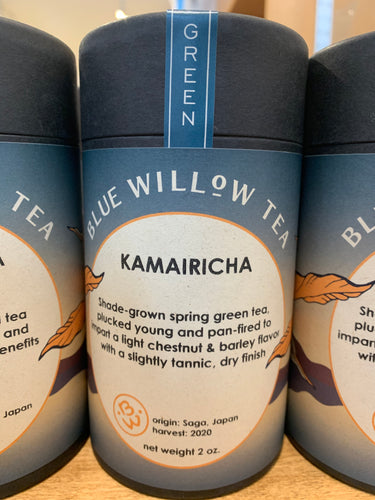 Blue Willow Tea: (S) Kamairicha